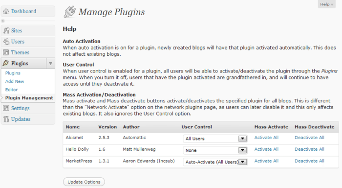 Multisite Plugin Manager: An Essential Free Tool for Every WordPress Network