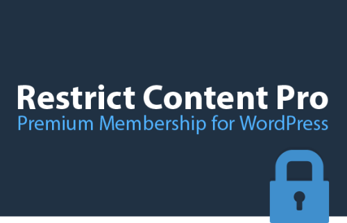Restrict Content Pro – Premium Membership Plugin