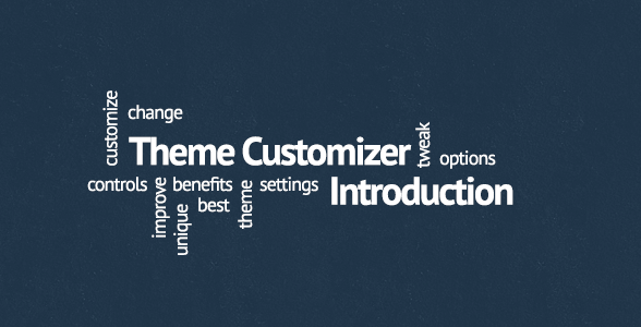 Introduction To The WordPress Theme Customizer