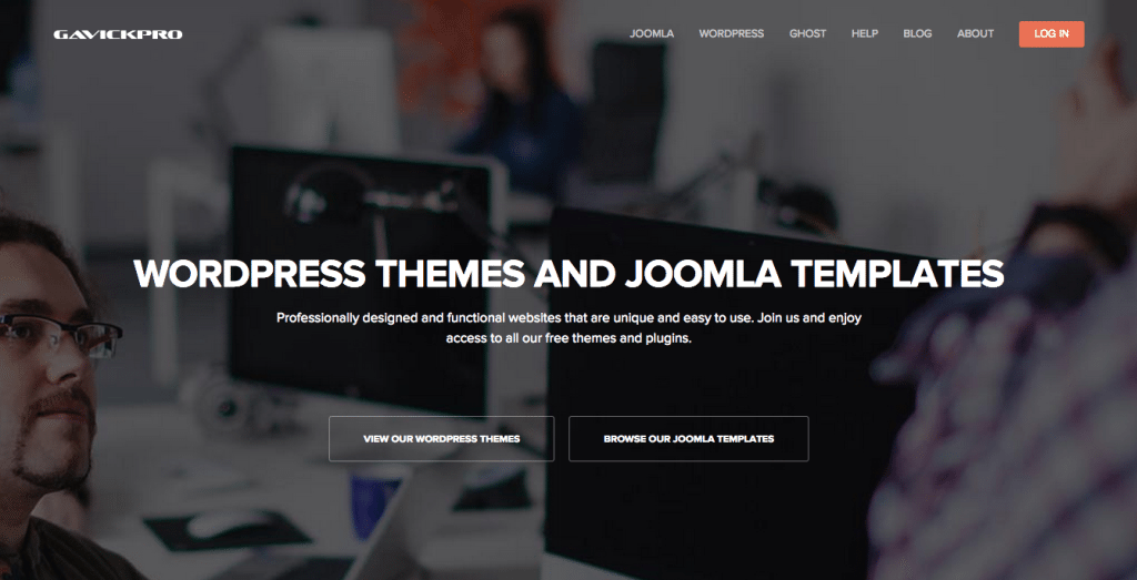 GavickPro WordPress Themes