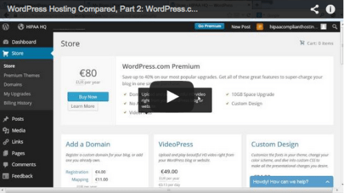 WordPress Hosting Compared, Part 2: WordPress.com & VPS