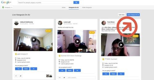 How to Embed a Live Google+ Hangout on Your WordPress Website