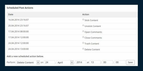 10 WordPress Plugins for More Powerful and Flexible Scheduled Posts