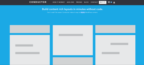 Conductor: A Modular Layout Builder for WordPress