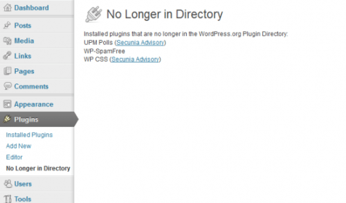 Find Out If Your WordPress Plugins Are No Longer In The Repository (And Potentially No Longer Safe)