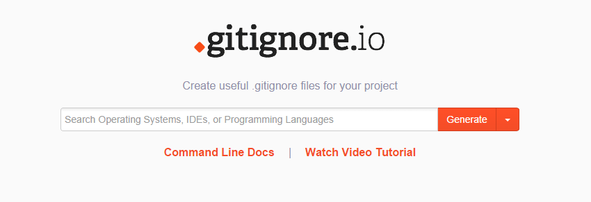 Gitignore generator for WordPress developers and designers