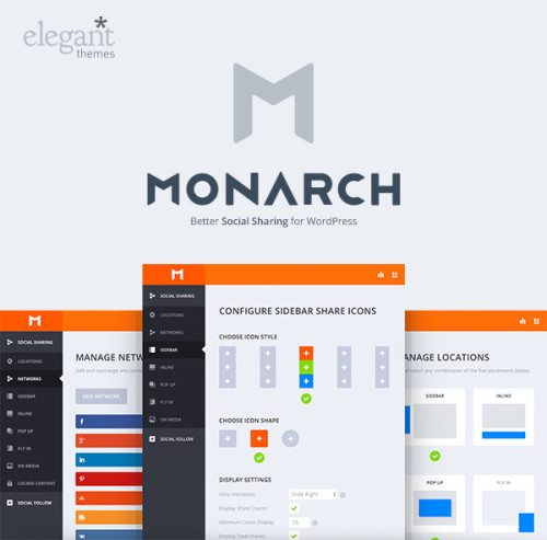 Good Looking Social Sharing with Monarch