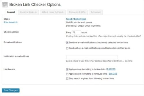 How to check your website for broken links