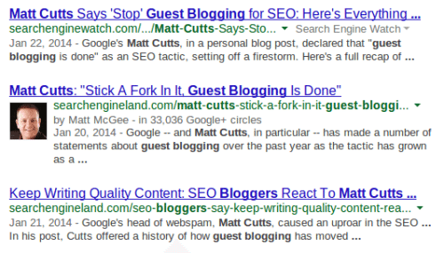 Matt Cutts on Guest Blogging and SEO
