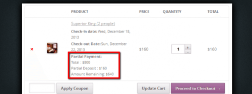 Partial Deposits for WooCommerce: Accept Deposits for Online Bookings