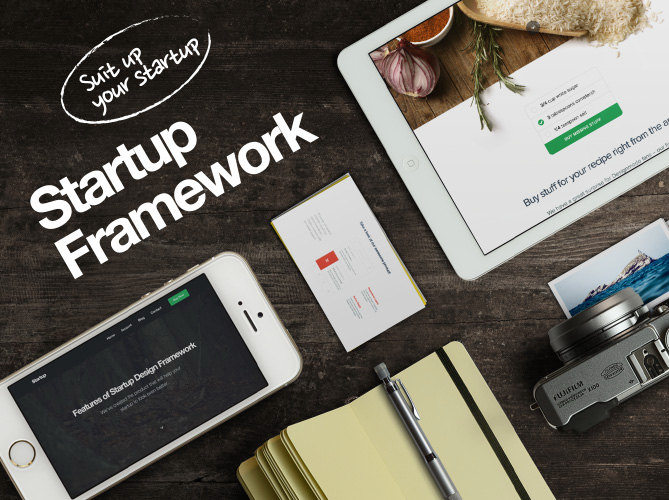 Startup Framework for WordPress