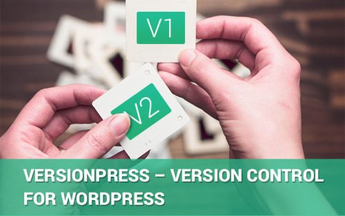VersionPress – Version Control for WordPress
