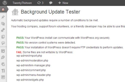 WordPress Core Developers Release Plugin To Test Automatic Background Updates