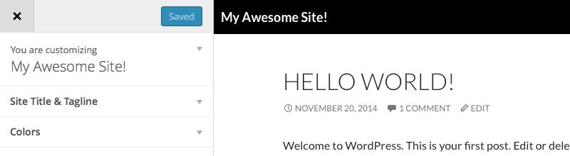 Creating WordPress Theme Options With the Theme Customization API
