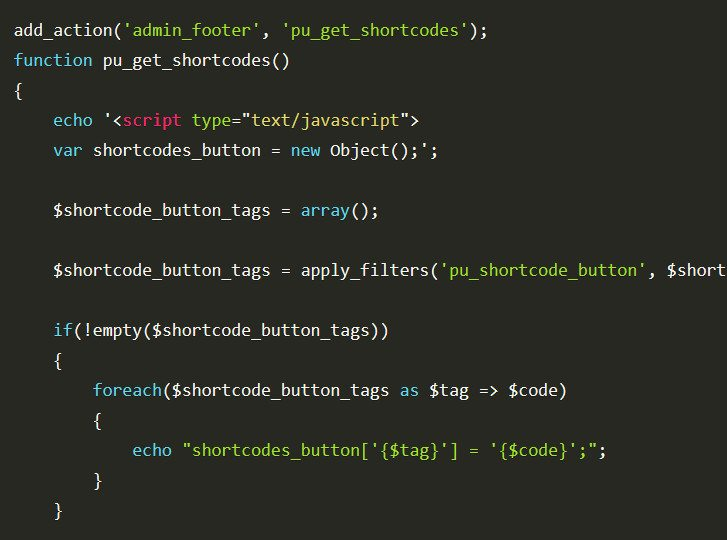 Improving WordPress Shortcode Usability