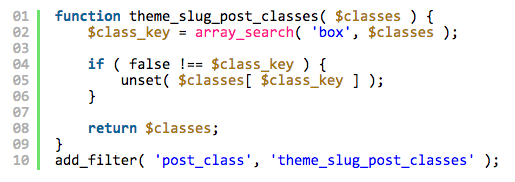 Mastering the post_class() Function
