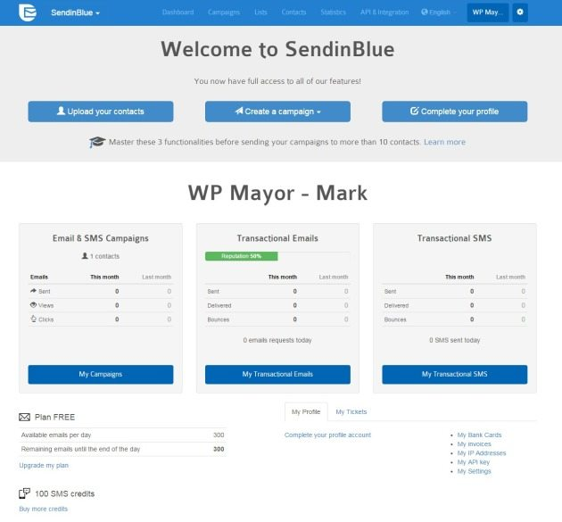 SendinBlue – Email Marketing that won't Break the Bank