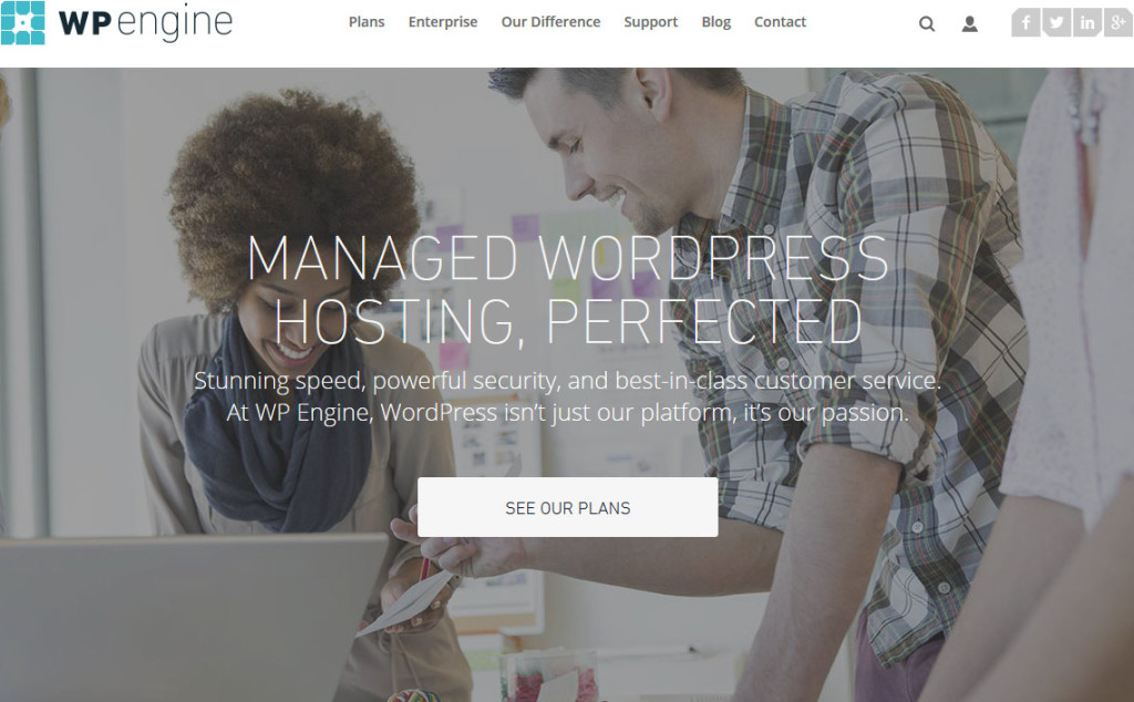 WP Engine – WordPress Hosting, Perfected