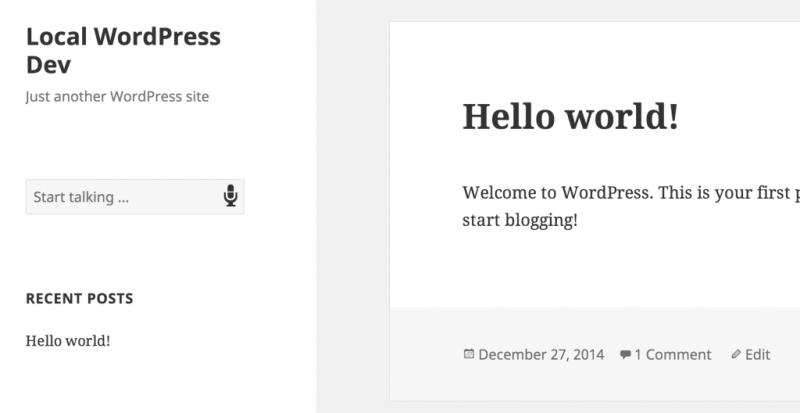 Enabling Voice Search in WordPress Using The Web Speech API