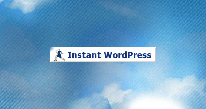 How to Install WordPress on a USB Stick Using Instant WordPress