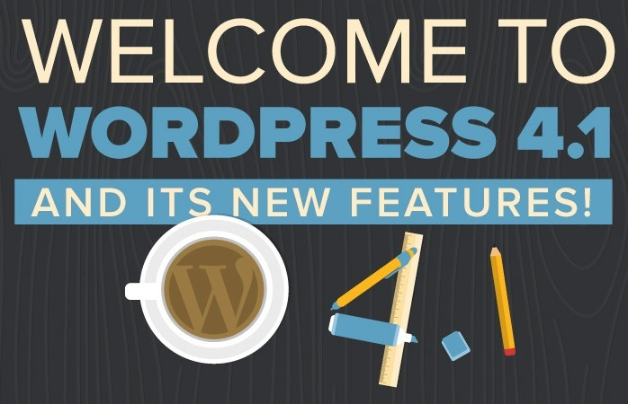 "Infographic: Welcome to WordPress 4.1 ""Dinah"" and Its New Features"