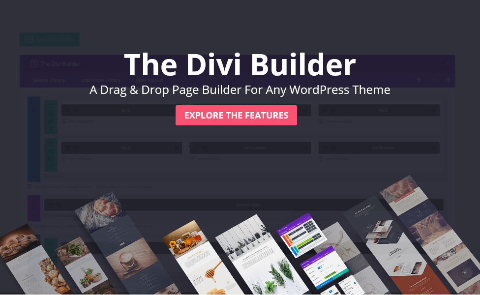 The Divi Builder – the Ultimate Page Builder Plugin for WordPress