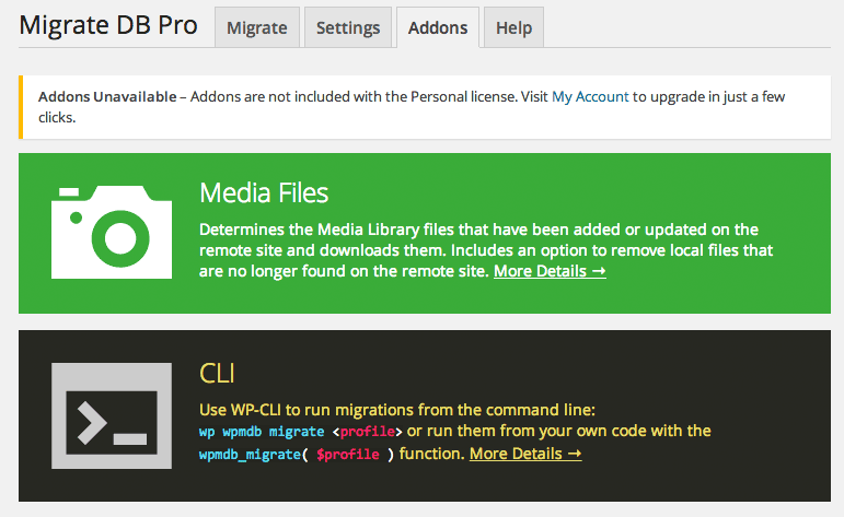 Transfer Your WordPress Database with WP Migrate DB Pro
