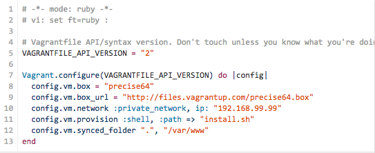 Using Vagrant to Set up a WordPress Test Environment