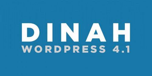 """WordPress 4.1, """"Dinah"""""""