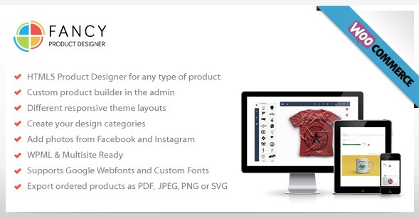 Fancy Product Designer – Your WooCommerce Custom Product Builder