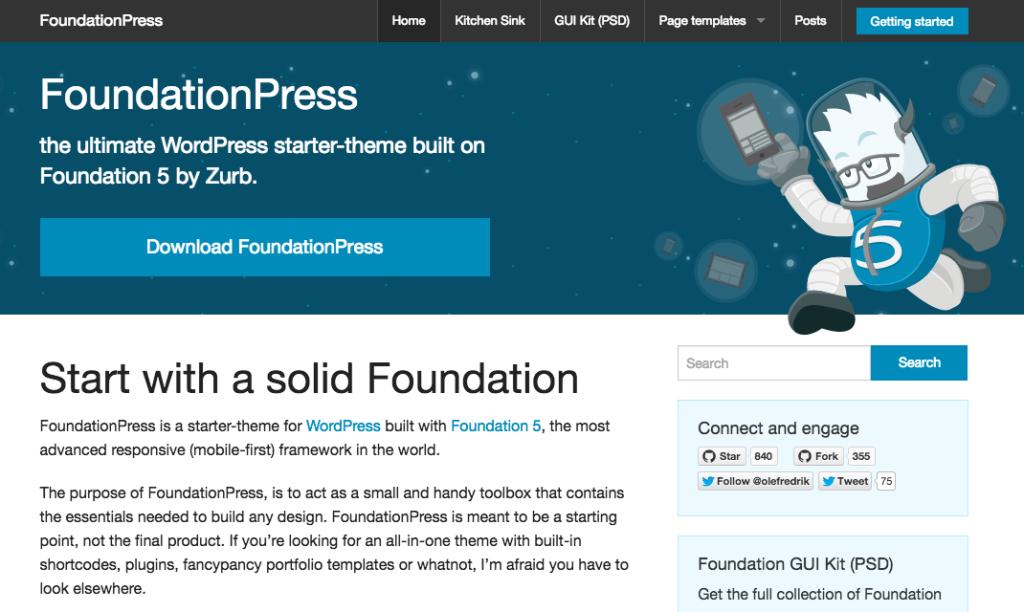 FoundationPress | WP Clipboard – WordPress Resources