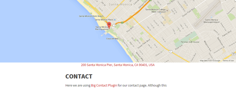 Make Your Website Contact Pages More Useful With A Big Contact Page