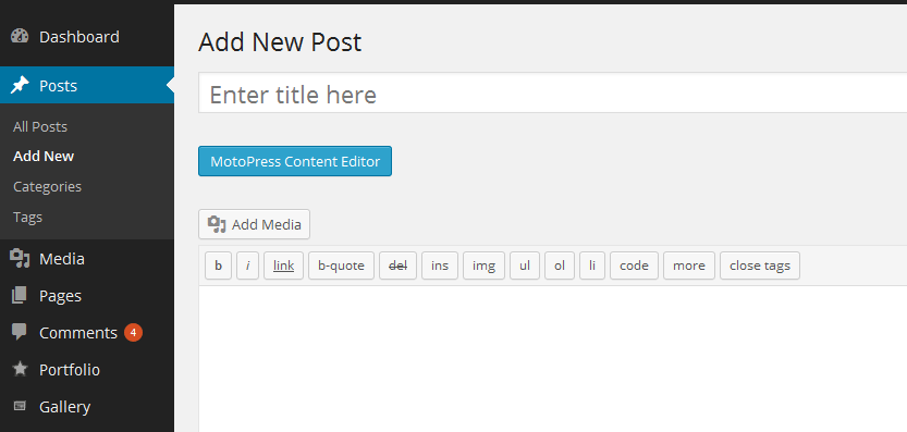 MotoPress Review: Re-imagining The Default WordPress Content Editor