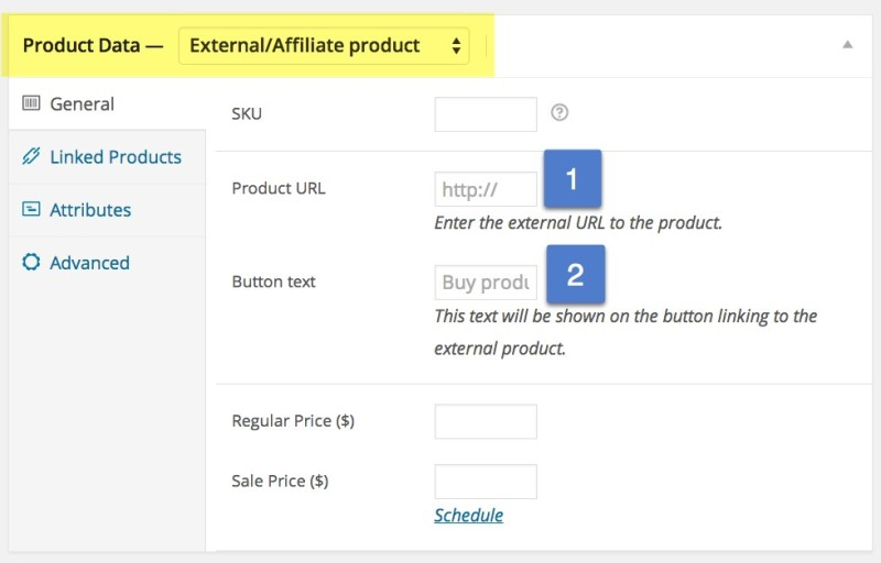 Setting Up External Products and Affiliates in WooCommerce