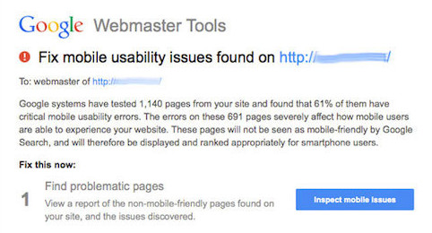 Assessing Mobile Usability With Google Webmaster Tools
