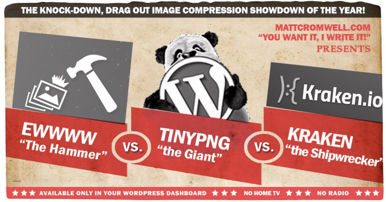 Battle of the Image Compression WordPress Plugins