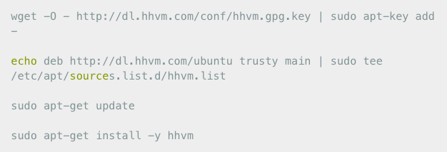 From PHP-FPM to HHVM on Ubuntu