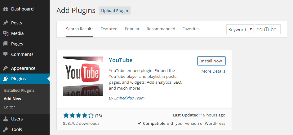 Get More Control Over YouTube Videos With YouTube Embed Plus