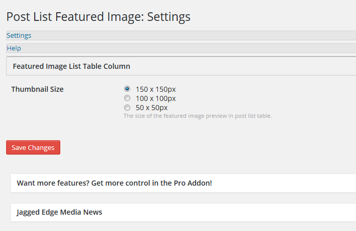 How to Add a Featured Image Column to The Post Listing Page in The WordPress Backend