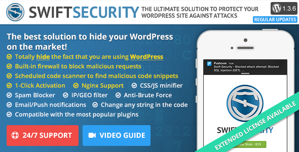 Swift Security – Bulletproof Your WordPress Website