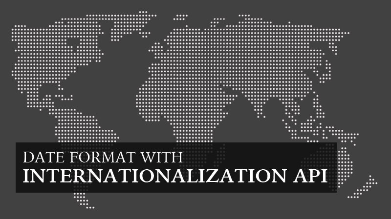 A Definitive Way to Format Dates for International Sites