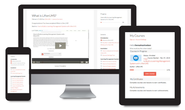 LifterLMS Review – A Learning Management System for WordPress