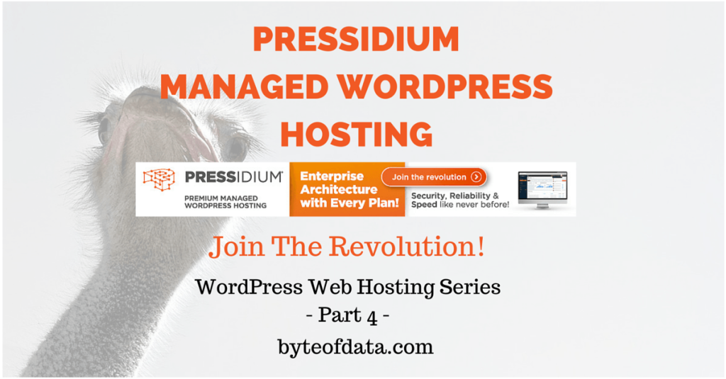 Pressidium Managed WordPress Hosting – Join The Revolution!