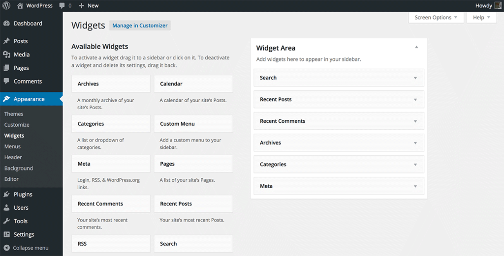 What are WordPress Widgets and How Do I Get New Ones?