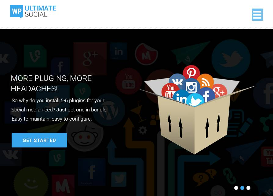 WP Ultimate Social – 7 in 1 Social Media Plugin for WordPress