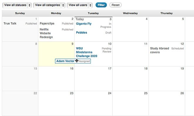 Choosing the Right WordPress Editorial Calendar Plugin