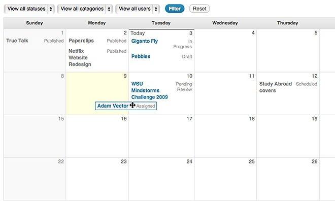 Choosing the Right WordPress Editorial Calendar Plugin
