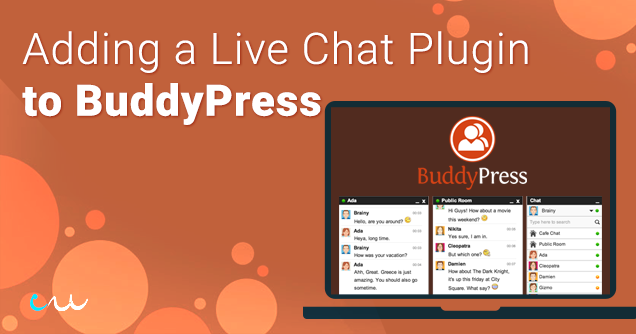 Adding a Real-Time Live Chat Plugin In BuddyPress