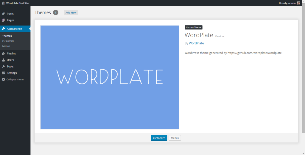 Better WordPress Development Workflow with WordPlate