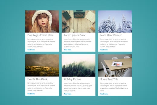 How to Display Your WordPress Posts in a Grid Layout
